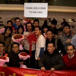 yanni at Beijing airport