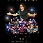 Yanni na Turquia em 22 de Setembro de 2016